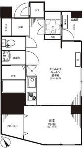 【間取図】角部屋・陽当たりの良い部屋です♪