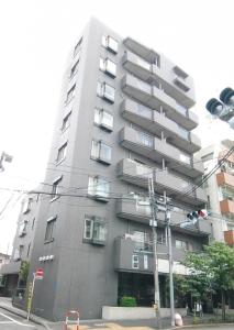 【外観】外壁タイル貼り・大理石貼りのエントランスロビー!重厚感あるマンション!