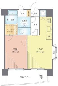 【間取図】家具・家電付