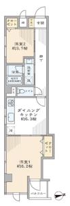 【間取図】東南角部屋です☆