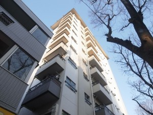 【外観】京王線「桜上水」駅 徒歩6分のマンションです♪
