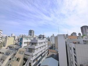【眺望】8階部分・南西角部屋住戸につき陽当たり・眺望・通風良好です。