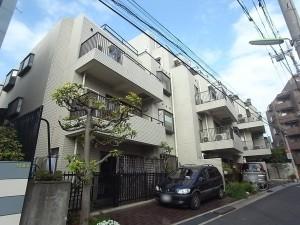 【外観】清水建設株式会社施工、小田急線『豪徳寺』駅徒歩6分のマンションです。