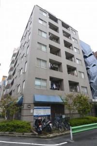 【外観】JR総武本線「亀戸」駅より徒歩3分!平成13年3月築の綺麗なマンションです♪