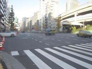 【前面道路】