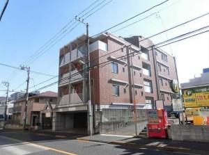【外観】外壁タイル貼り☆4階角部屋です!