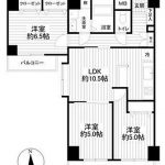 アーバンドックパークシティ豊洲 タワーA613号室