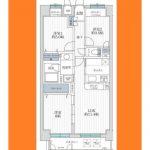 南篠崎スカイハイツ A棟617号室